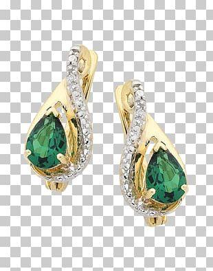 Emerald Earring Jewellery Gemstone PNG