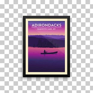 Poster Wall Decal Text Graphic Design Pure Adirondacks PNG