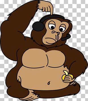 Primate Gorilla Chimpanzee Ape Monkey PNG