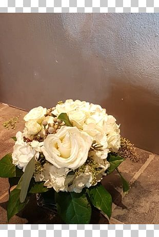 Garden Roses Centrepiece Floral Design Table Cut Flowers PNG