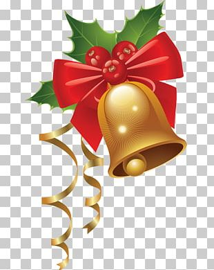 Candy Cane Christmas Jingle Bell PNG
