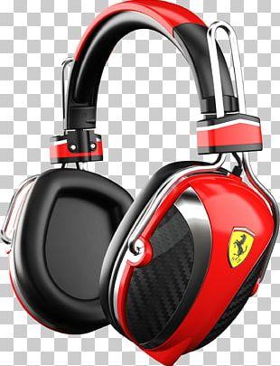 Scuderia Ferrari Noise-cancelling Headphones Formula One PNG