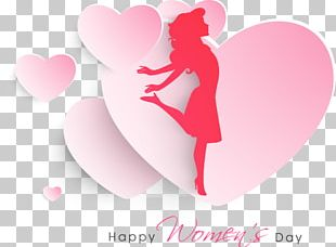 International Womens Day Woman Poster Valentines Day PNG