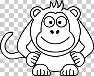 Cartoon Black And White Drawing PNG