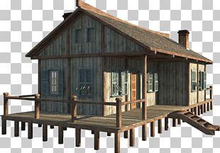 Hut Cottage House Roof Log Cabin PNG