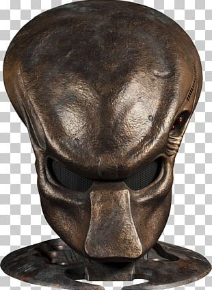 Predator Alien Mask Prop Replica Sideshow Collectibles PNG