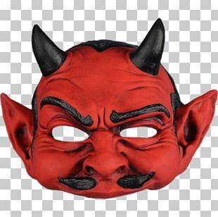 Red Devil Mask PNG