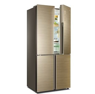 Refrigerator Haier Auto-defrost Home Appliance Washing Machine PNG