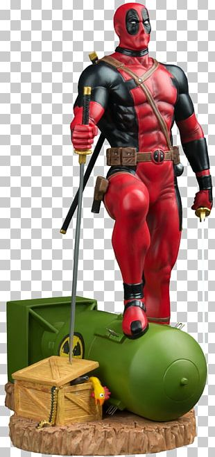 Iron Man Deadpool Figurine Action & Toy Figures Statue PNG