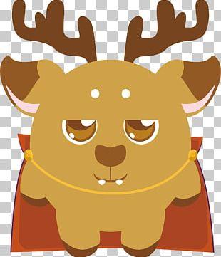 Reindeer Illustration PNG