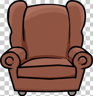 Club Chair Club Penguin Table Furniture PNG