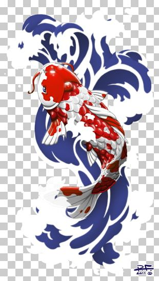 Butterfly Koi Art Drawing Painting PNG