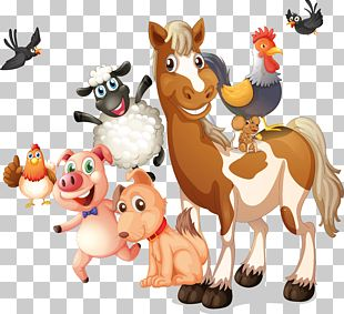 Farm Livestock Illustration PNG