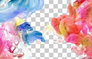 Color Acrylic Paint Stock Photography Printing Abstract Art PNG
