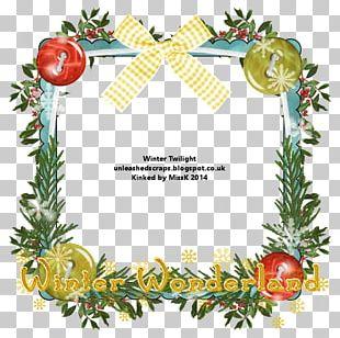 Christmas Ornament Pine Frames Christmas Day PNG