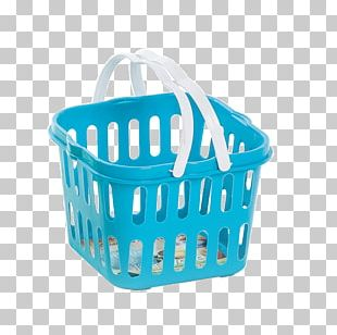 Plastic Storage Basket (white) Wicker Product PNG