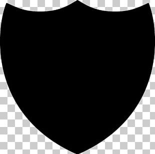 Silhouette Shield PNG