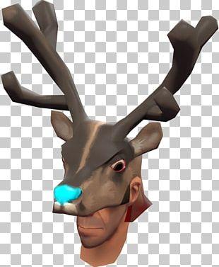 Reindeer Antler PNG