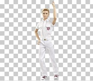 Texas A&M University Ken Aggie Yell Leaders Barbie Doll PNG