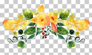 Floral Design Dibujo: Flores Watercolor Painting Drawing PNG