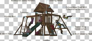 Jungle Gym Swing Playground Slide Outdoor Playset Child PNG