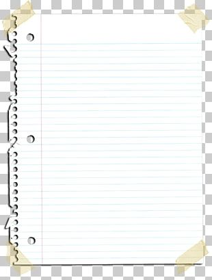 Paper Rectangle Square Notebook PNG