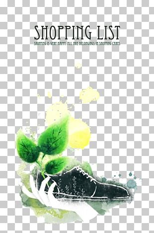 Poster Shoe PNG