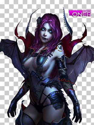 Demon Succubus Devil Woman PNG