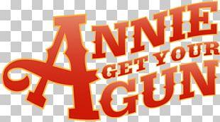 Annie Get Your Gun Marquis Theatre Logo Musical Theatre PNG