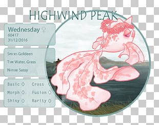 Animal Pink M Legendary Creature Animated Cartoon Font PNG