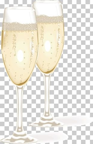 Champagne Glass Wine Glass Beer PNG
