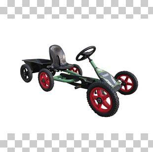 Go-kart Wheel Kettcar Motor Vehicle Trailer PNG