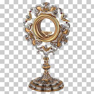Monstrance Eucharist Reliquary Pyx Sacramental Bread PNG