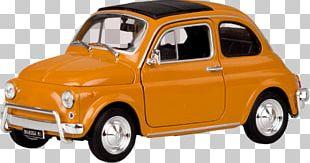 Fiat 500 Car Fiat Automobiles Automotive Design PNG