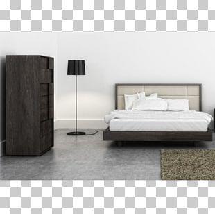 Bedside Tables Bedroom Furniture Sets Platform Bed PNG