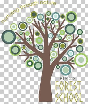 Logo Tree Forest School Business Corporate Branding PNG