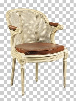 Chair Louis XVI Style Fauteuil Cabriolet Assise PNG