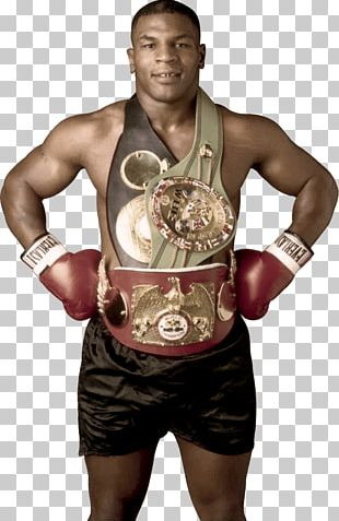 Mike Tyson Winner With Belt PNG