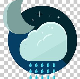 Rain Cloud Icon PNG