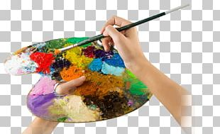 Palette Artist Watercolor Painting PNG