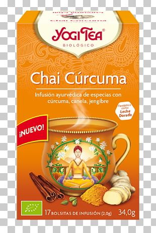 Green Tea Masala Chai Organic Food Yogi Tea PNG