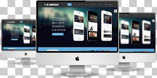 Responsive Web Design Joomla Presentation Template Smartphone PNG
