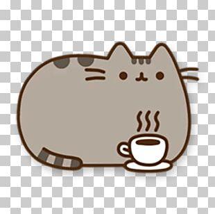 Mug Pusheen Coffee Cup Teacup Saucer PNG