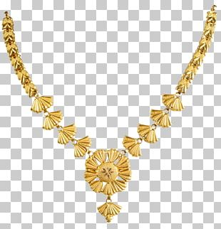 Necklace Jewellery Chain Gold Jewelry Design PNG