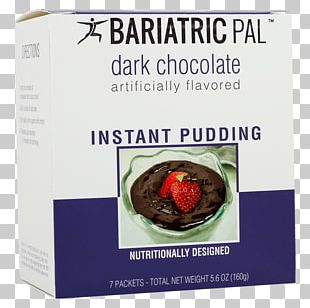 Superfood Dark Chocolate Instant Pudding Chocolate Chip PNG