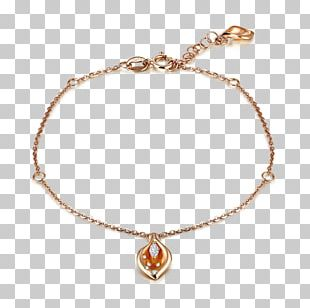Bracelet Anklet Jewellery Chain Gold PNG