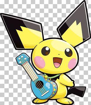 Pikachu Pichu Pokémon Yellow Pokémon GO Pokemon Black & White PNG