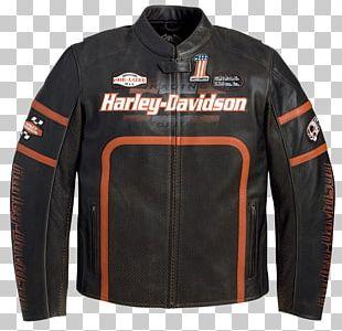 Leather Jacket Harley-Davidson Motorcycle PNG