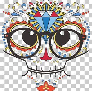 T-shirt Calavera Skull Tattoo PNG