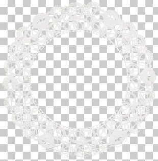 Paper Doily White Lace PNG